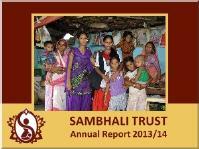 Jahresbericht von Sambhali Trust, Indien