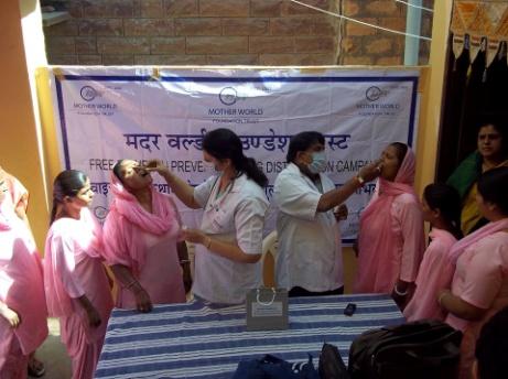 Homöopathie Camp in Jodhpur und Setrawa