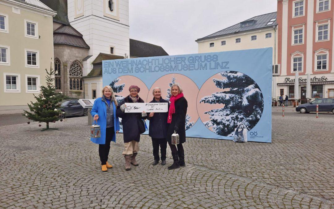 Initiative #fauenpower Freistadt zeigt Herz für Frauen und Kinder
